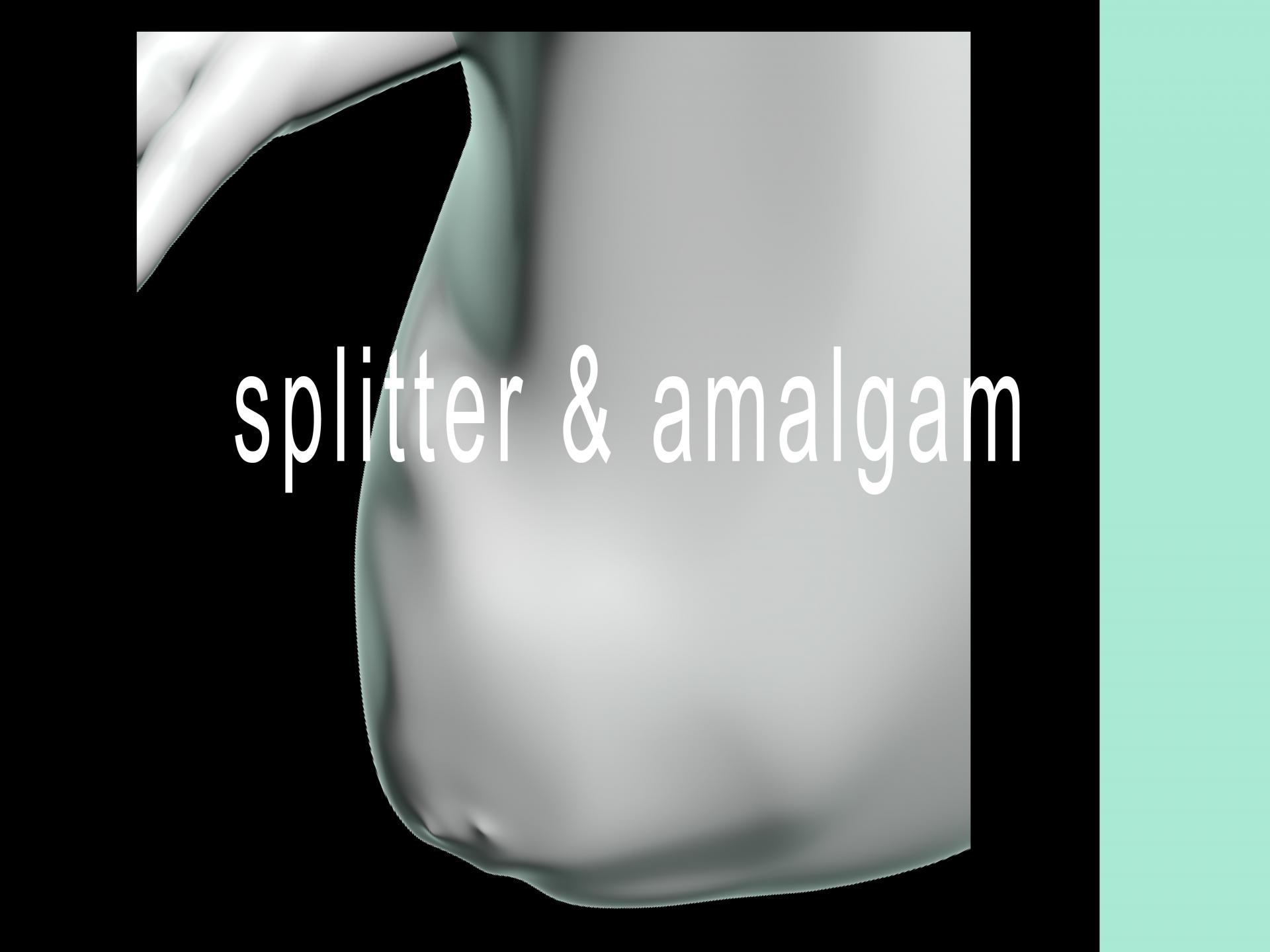 DIE DIGITALE DÜSSELDORF splitter & amalgam – die ausstellung