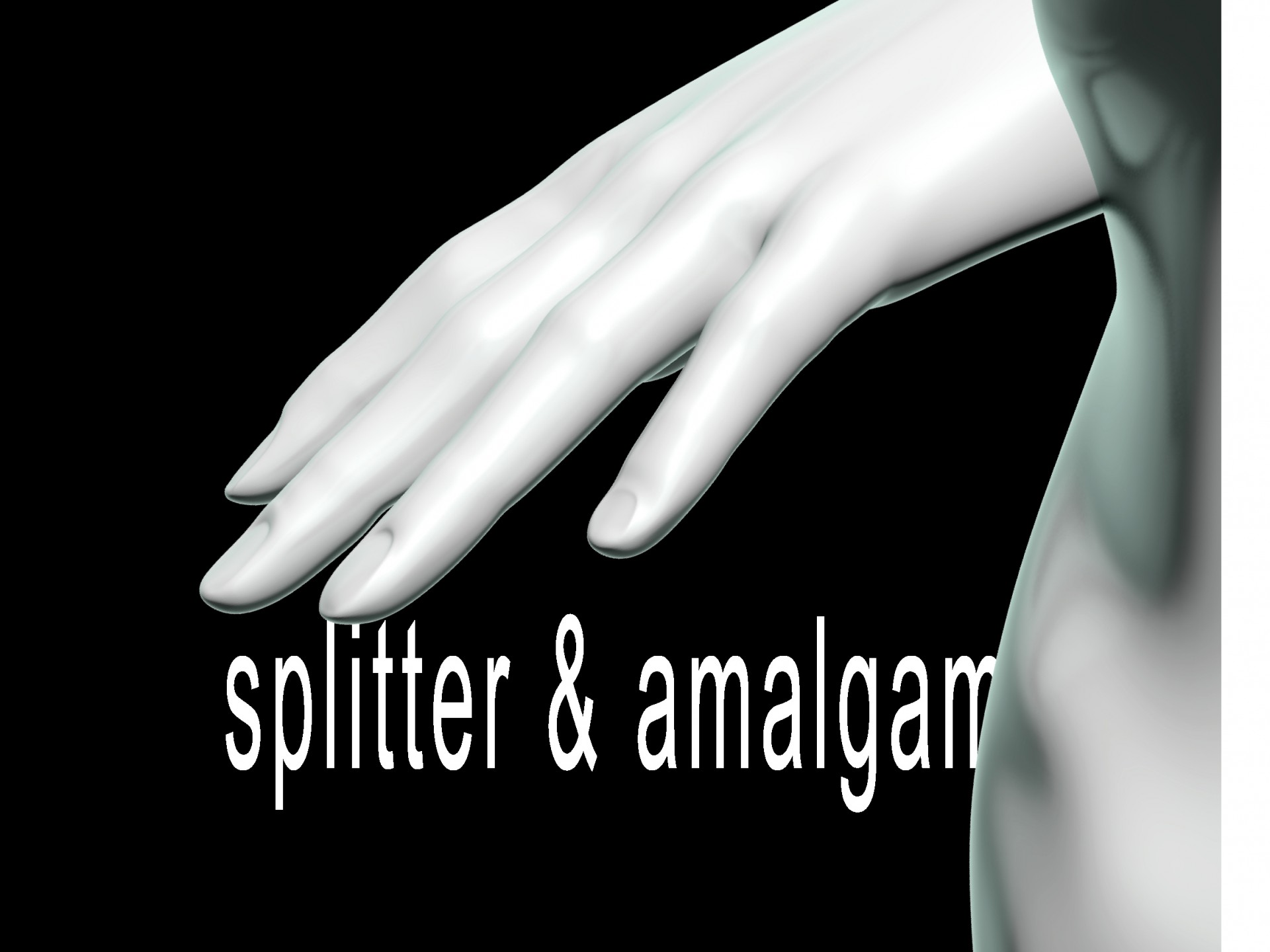 die digitale splitter & amalgam – die performances